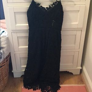 Black Lace Dress from Anthropologie